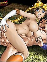 shrunken woman hentai